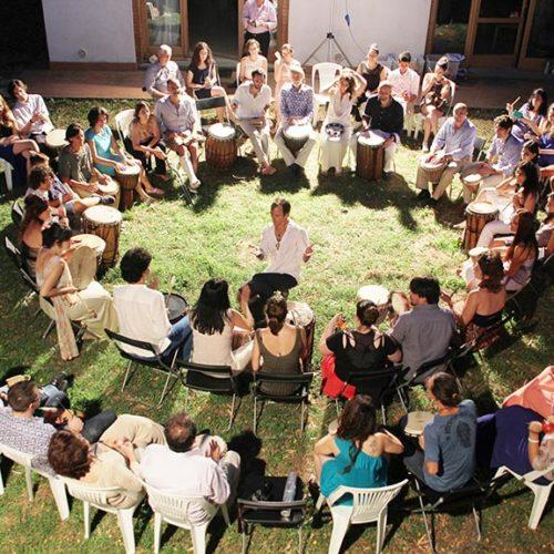 VMC Basic Drum Circle Facilitator Training con H.Filippo Chiostri